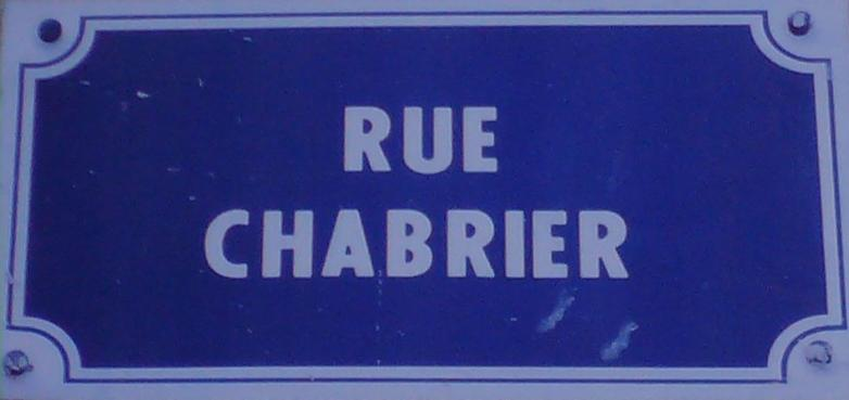 plaque chabrier