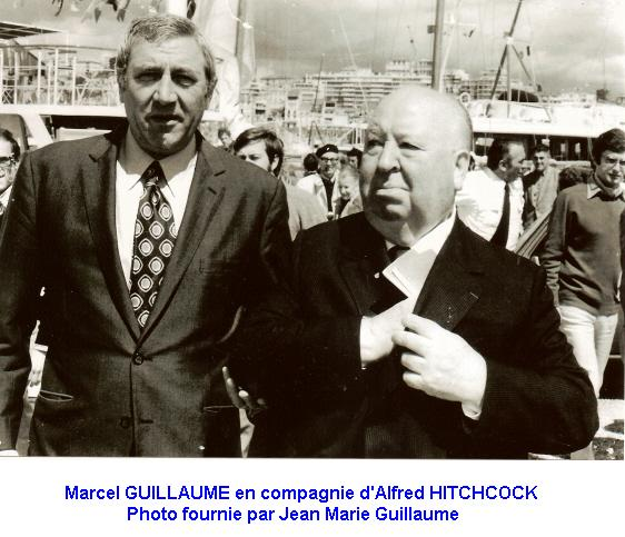 photo avec Alfred Hitchcock